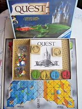 Quest Board Game By  Ravensburger 1984