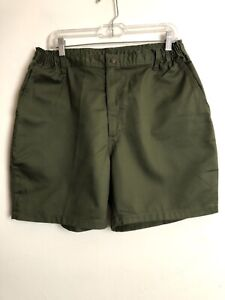 Boy Scouts of America Mens Shorts 38 Official Uniform Vintage Green