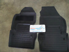 Genuine Volvo S80 Premium Off Black All Weather Floor Mats OE OEM 39807564