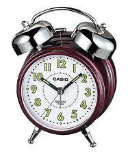 Casio Bell Alarm Clock Micro Light Snooze TQ362 4 colors Glow in the dark #