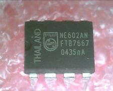 NE602A NE602AN, 8 Pin DIP, DOUBLE BALANCED MIXER AND OSCILLATOR : 3pcs per lot