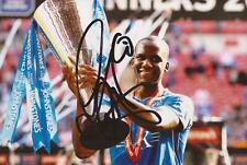 CHESTERFIELD: CRAIG WESTCARR SIGNED 6x4 TROPHY ACTION PHOTO+COA
