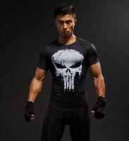 Super Held Marvel T Shirt Langarm Kompression Sport 3d Herren