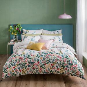 Cath Kidston Twilight Garden Multi 100% Cotton 200 TC Bed Quilt Duvet Cover Set