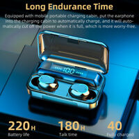 Mini Bluetooth 5.0 Headset TWS Earbuds Wireless Earphones HiFi Stereo Headphones