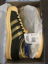 Adidas Superstar Vintage 465168 RARE New In box Dark Olive/Gold/Yellow