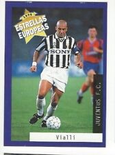 ALL STAR GIANLUCA VIALLI Rare '96 PANINI CARD with JUVENTUS FC