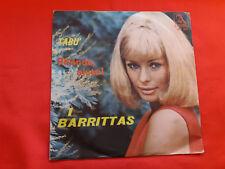 DISCO 45 giri -  I Barritas – A Rhonda, Aiuto! / Tabù   . 1965 .  raro