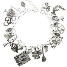 AVBeads Jewelry Pagan Wicca Charm Bracelet Silver Metal Charms 1609