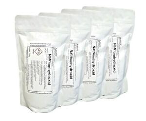 4x 500g Natriumhydroxid >99% NaOH Ätznatron-Reiniger Abbeizer Seifen Herstellung