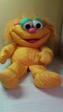 "Vintage Rare 1995 Playskool Zoe Large 24"" stuffed doll Plush Sesame St. Muppets"