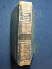 LIBRARY OF THE WORLDS BEST LITERATURE VOL 2 1896