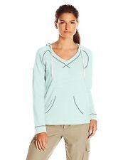 Columbia Womens S - NWT - Mint Green Tropic Haven French Terry Hoodie Sweatshirt