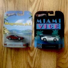 Hot Wheels 2013 Ferrari 308 GTS QV Magnum p.i. And Miami Vice Ferrari F512 M