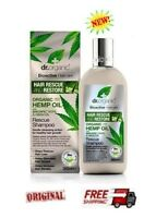 DR. ORGANIC - Hemp Cannabis Oil RESCUE Shampoo  -  265ml