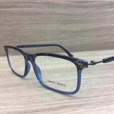 0541aa3b211d Giorgio Armani AR 7041 Eyeglasses Smoke Blue Brown Ruthenium 5316 Authentic  55mm