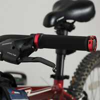 Handlebar Grips Double Lock BMX MTB Mountain Bike Bicycle Cycling New
