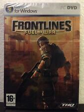 FRONTLINES / FUEL OF WAR / PC Steelbook Edtion - Factory Sealed