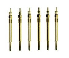 6 X MONARK Glühkerze Glühstift für AUDI A6 2.5 TDI glow plug