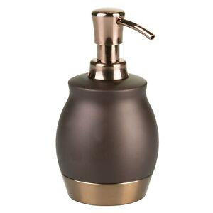 Better Homes and Gardens Bronze Gold Chandon Liquid Soap Pump Dispenser Two Tone