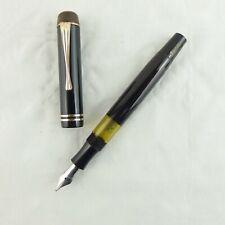 Montblanc Kolbenfüller 234 ½ schwarz mit Stahlfeder