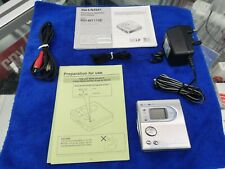 More details for sharp md-mt170e portable walkman mini disc player recorder with accesories