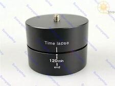 120 min Panning Rotating Time Lapse Stabilizer Tripod Pan&Tilt for Gopro DSLR