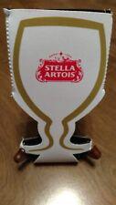 STELLA ARTOIS KOOZIE in wine glass shape Super Koozie Stella Artois 19 oz can
