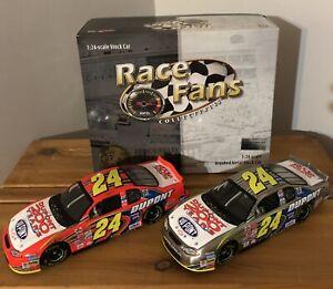 2002 Jeff Gordon Dupont 200th Anniversary 1/24  Brookfield NASCAR Diecast Set