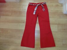 Girl Gymboree New York Girl Red Pants 8 Plus NWOT