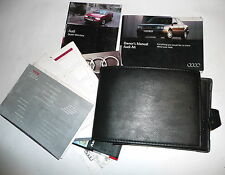Audi A6 (C4) 1998 1.8 Owners Hand Book Manual & Wallet  1994-1997