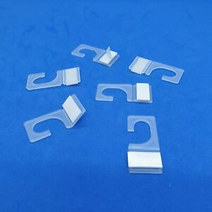1000 x Self Adhesive 18mm Hanging Hook HangTab with Foam Tape