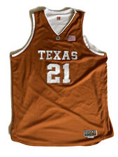 GAME WORN 2004 Nike Jason Klotz #21 Texas Longhorns Basketball Jersey SZ 56 RARE