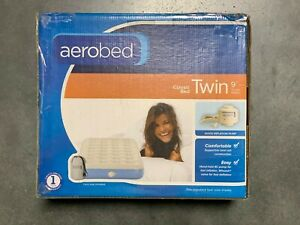 Aerobed Classic Twin 9 IN Height Air Mattress with Handheld Pump | DMG Box 2