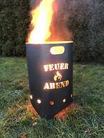 Feuertonne, Feuerkorb, Feuersäule