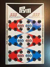 72 Pcs.(2 Set) Small Metal Snap Fasteners Press Button Stud Black Size 7 mm.