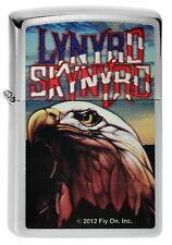 ZIPPO accendino Lynyrd Skynyrd EAGLE AQUILA Rock Band NUOVO OVP oggetto da collezione!!!