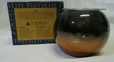 Partylite P92919 Silvery Copper Tealight Candle Holder - Small - New In Box