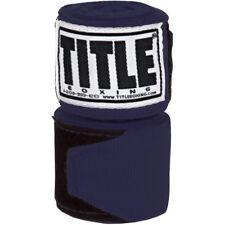 "Title Boxing 180"" Semi Elastic Mexican Handwraps - Navy"