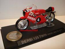 MOTO DERBI 125 TWIN N° 4 ANGEL NIETO 1971 au 1/24°