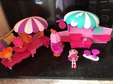 Lalaloopsy Bundle Mini Doll  Playsets Salon Ect Joblot