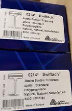 New 1 box of aprox 5000 tagging gun barbs 40mm swiftach 02141