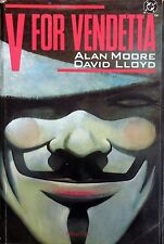 V FOR VENDETTA ALAN MOORE DAVID LLOYD MILANO LIBRI 1994 DC COMICS
