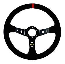 Dragonfire Racing Shallow Suede Steering Wheel RZR Commander Maverick YXZ1000