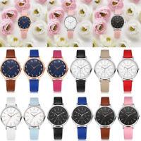 Lvpai Fashion Women's Casual Quartz Leather Band Watches Analog Wrist Watch