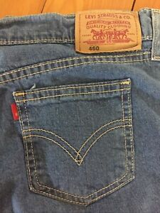 Vintage 1990s Levi's 460 Mid Rise Soft Summer Weight Zip Fly Jeans W32 x 33