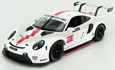 1 24 Bburago Porsche 911 RSR White/red