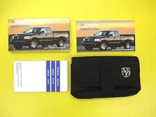 Dakota Truck 07 2007 Dodge Owners Owner's Manual Set With Case OEM Factory