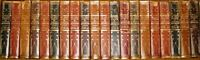 LEATHER Set;GREAT EVENTS HISTORIANS HISTORY! COMPLETE 20VOL!Encyclopedia Library