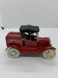 """NWOB ERTL 1918 J.C. Whitney &CO. Ford Model """"T"""" Runabout Bank - Diecast 1:25"""